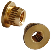brass knock in insert