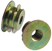 zinc alloy screw-in insert